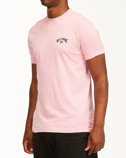 1 Arch Short Sleeve T-Shirt Pink ABYZT00758 Billabong
