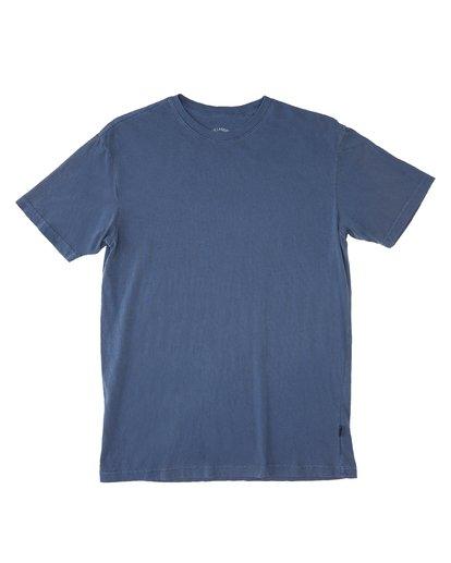 3 Essential Short Sleeve T-Shirt Blue ABYZT00759 Billabong