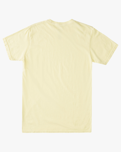 4 Essential Short Sleeve T-Shirt Yellow ABYZT00759 Billabong