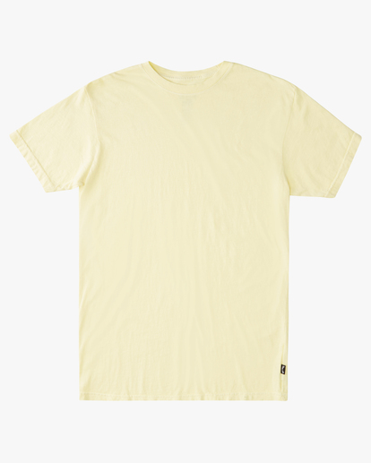 3 Essential Short Sleeve T-Shirt Yellow ABYZT00759 Billabong