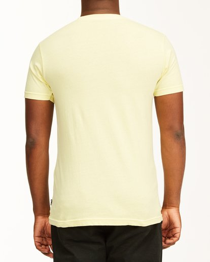 2 Essential Short Sleeve T-Shirt Yellow ABYZT00759 Billabong