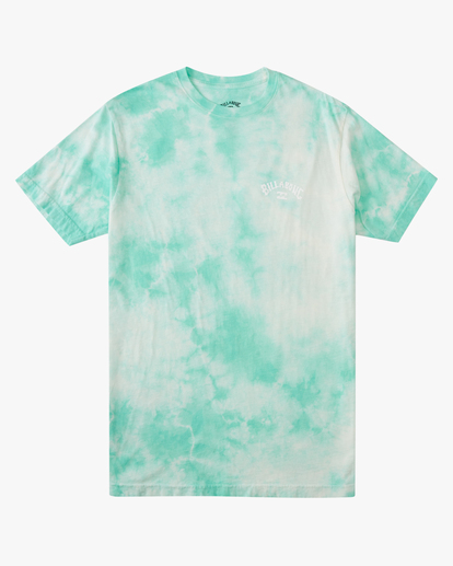 5 Tie Dye Arch Short Sleeve Tee Green ABYZT00760 Billabong