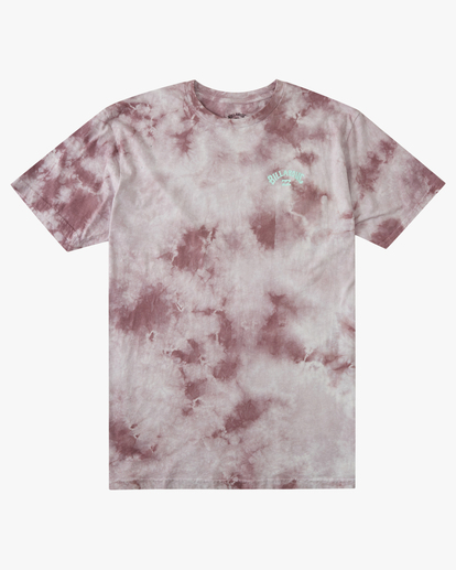 5 Tie Dye Arch Short Sleeve Tee Purple ABYZT00760 Billabong