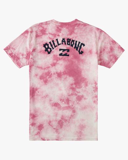6 Tie Dye Arch Short Sleeve Tee Pink ABYZT00760 Billabong