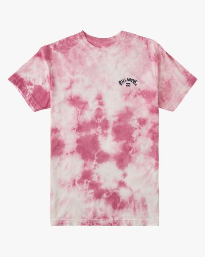 5 Tie Dye Arch Short Sleeve Tee Pink ABYZT00760 Billabong