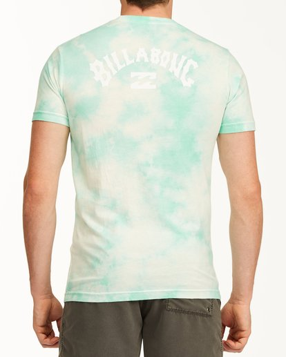 2 Tie Dye Arch Short Sleeve Tee Green ABYZT00760 Billabong