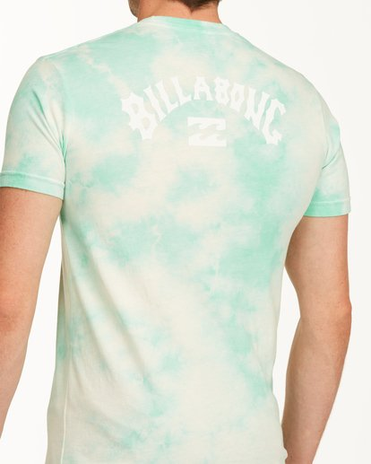 3 Tie Dye Arch Short Sleeve Tee Green ABYZT00760 Billabong