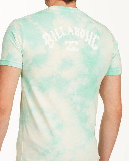 3 Tie Dye Arch Short Sleeve Tee Green ABYZT00760 Billabong