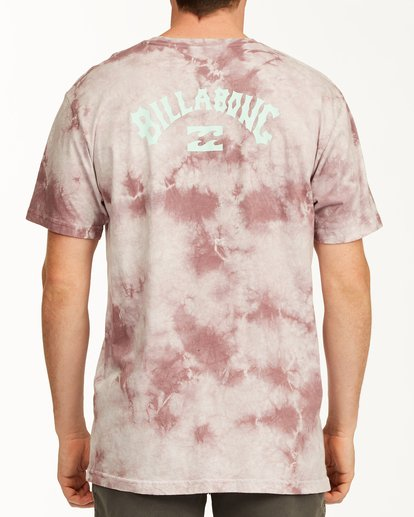 2 Tie Dye Arch Short Sleeve Tee Purple ABYZT00760 Billabong