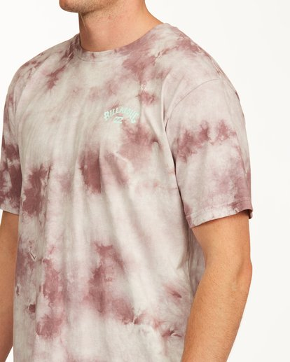 4 Tie Dye Arch Short Sleeve Tee Purple ABYZT00760 Billabong