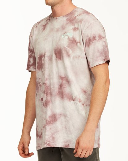 1 Tie Dye Arch Short Sleeve Tee Purple ABYZT00760 Billabong