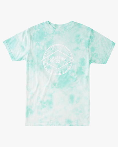 4 Tie Dye Rotor Arch Short Sleeve Tee Green ABYZT00761 Billabong