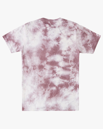 5 Tie Dye Rotor Arch Short Sleeve Tee Purple ABYZT00761 Billabong