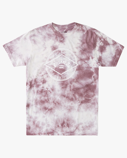 4 Tie Dye Rotor Arch Short Sleeve Tee Purple ABYZT00761 Billabong