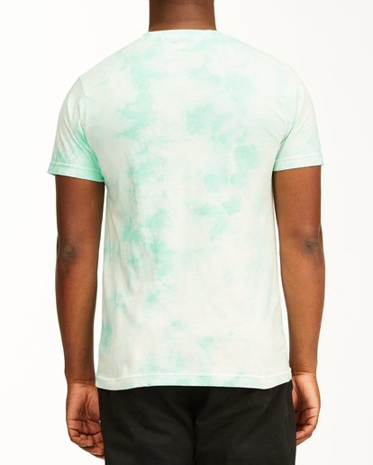 2 Tie Dye Rotor Arch Short Sleeve Tee Green ABYZT00761 Billabong