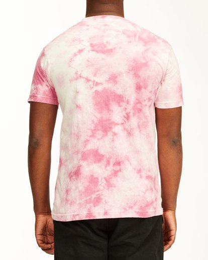 2 Tie Dye Rotor Arch Short Sleeve Tee Pink ABYZT00761 Billabong