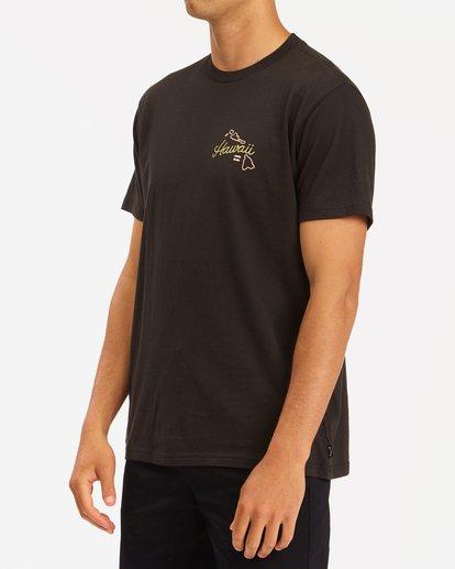 1 Handkie Hawaii Short Sleeve T-Shirt Black ABYZT00777 Billabong