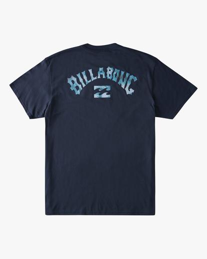 6 Arch Fill Short Sleeve T-Shirt Blue ABYZT00788 Billabong