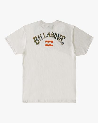 6 Arch Fill Short Sleeve T-Shirt White ABYZT00788 Billabong