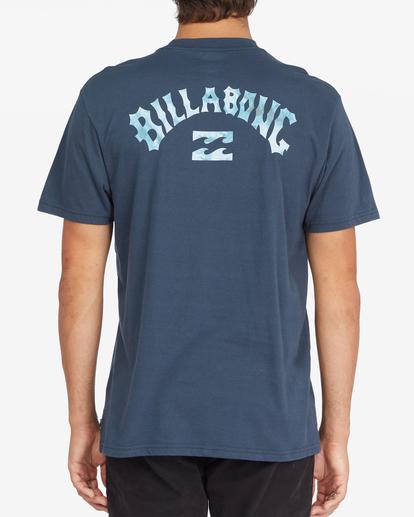 2 Arch Fill Short Sleeve T-Shirt Blue ABYZT00788 Billabong