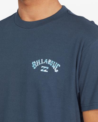 3 Arch Fill Short Sleeve T-Shirt Blue ABYZT00788 Billabong