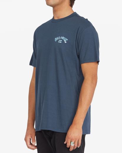 1 Arch Fill Short Sleeve T-Shirt Blue ABYZT00788 Billabong
