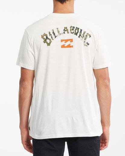 2 Arch Fill Short Sleeve T-Shirt White ABYZT00788 Billabong