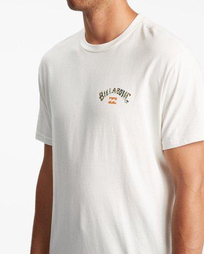 3 Arch Fill Short Sleeve T-Shirt White ABYZT00788 Billabong