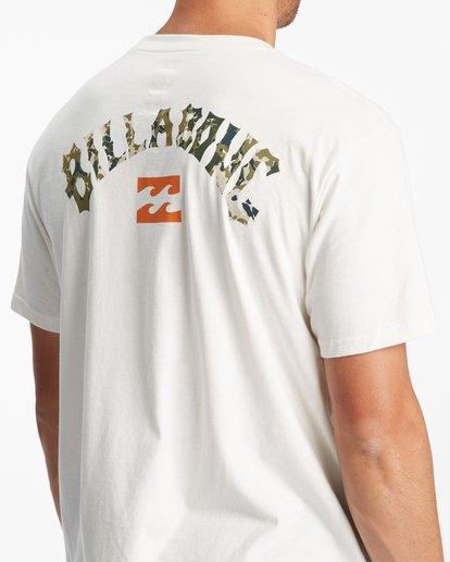 4 Arch Fill Short Sleeve T-Shirt White ABYZT00788 Billabong