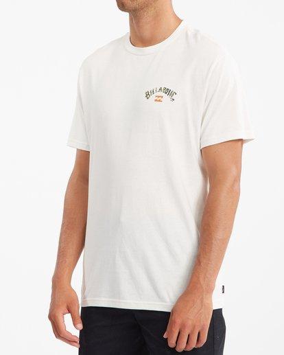 1 Arch Fill Short Sleeve T-Shirt White ABYZT00788 Billabong