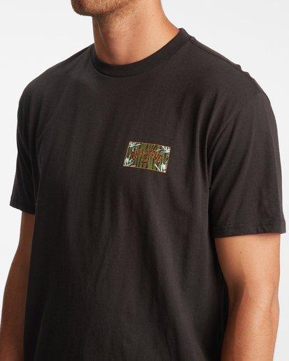 3 Arch Short Sleeve T-Shirt Black ABYZT00789 Billabong