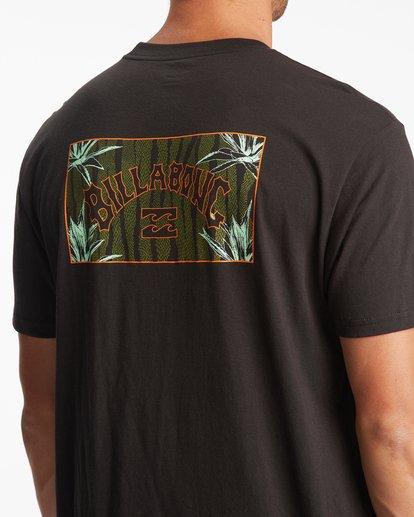 4 Arch Short Sleeve T-Shirt Black ABYZT00789 Billabong