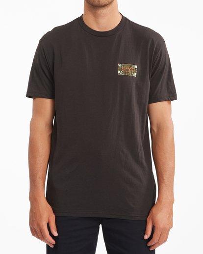 0 Arch Short Sleeve T-Shirt Black ABYZT00789 Billabong