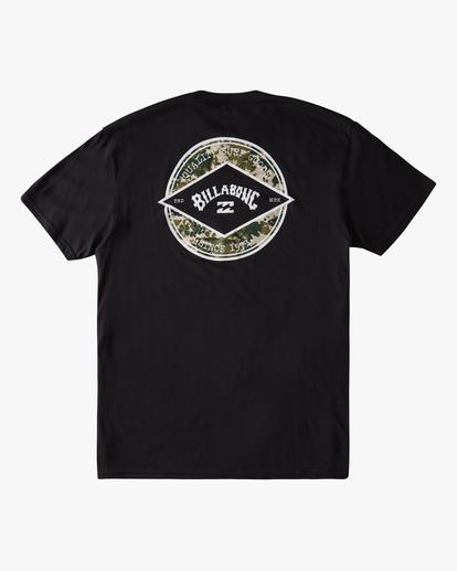 7 Rotor Arch Short Sleeve T-Shirt Black ABYZT00791 Billabong