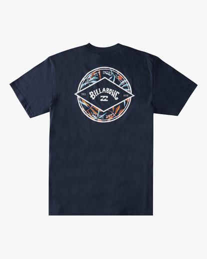 6 Rotor Arch Short Sleeve T-Shirt Blue ABYZT00791 Billabong
