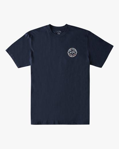 5 Rotor Arch Short Sleeve T-Shirt Blue ABYZT00791 Billabong