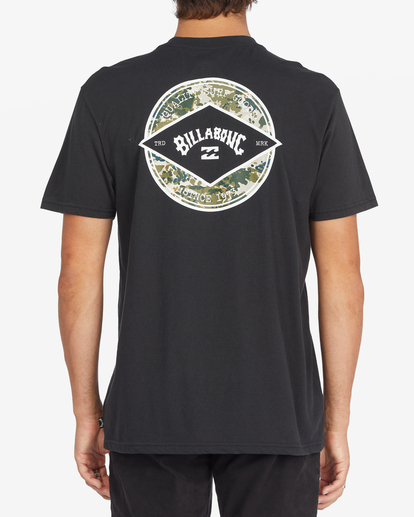 2 Rotor Arch Short Sleeve T-Shirt Black ABYZT00791 Billabong