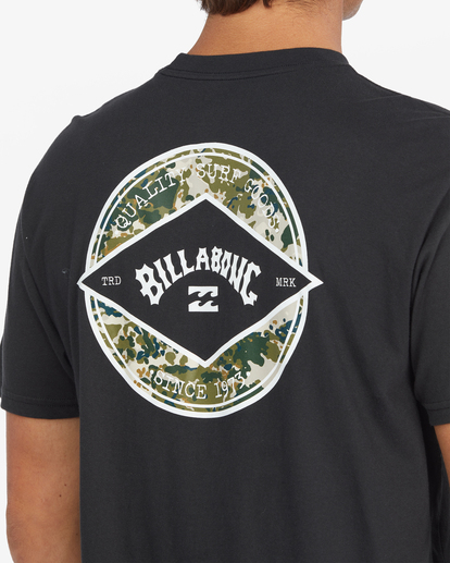 3 Rotor Arch Short Sleeve T-Shirt Black ABYZT00791 Billabong