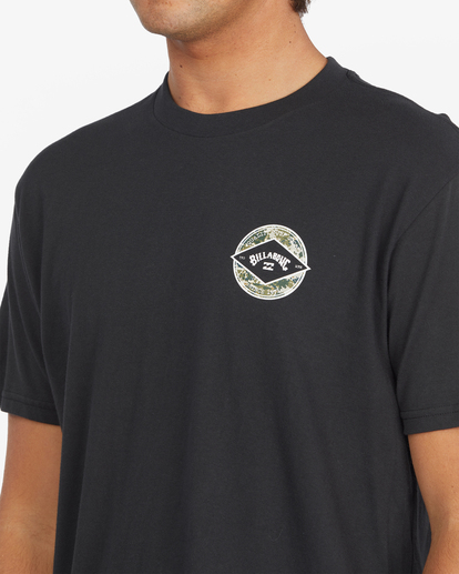 4 Rotor Arch Short Sleeve T-Shirt Black ABYZT00791 Billabong