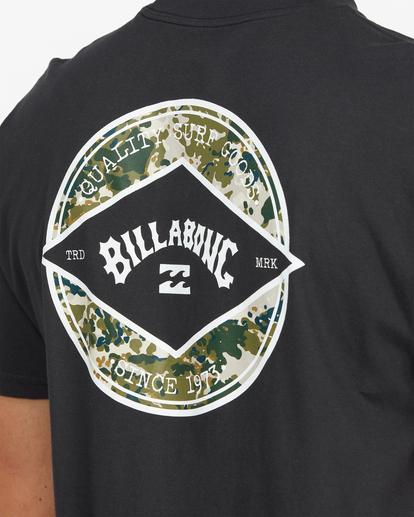 5 Rotor Arch Short Sleeve T-Shirt Black ABYZT00791 Billabong