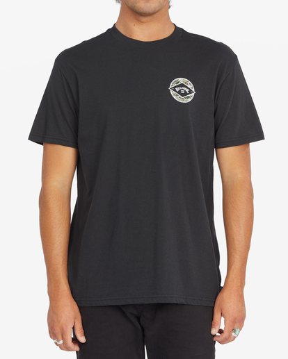 0 Rotor Arch Short Sleeve T-Shirt Black ABYZT00791 Billabong