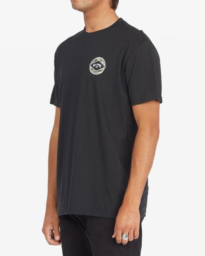 1 Rotor Arch Short Sleeve T-Shirt Black ABYZT00791 Billabong