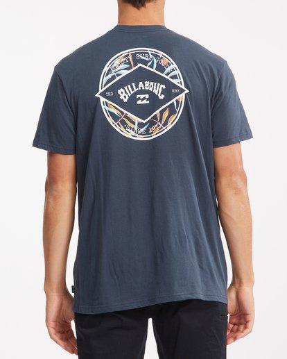 2 Rotor Arch Short Sleeve T-Shirt Blue ABYZT00791 Billabong