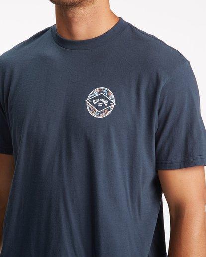 3 Rotor Arch Short Sleeve T-Shirt Blue ABYZT00791 Billabong