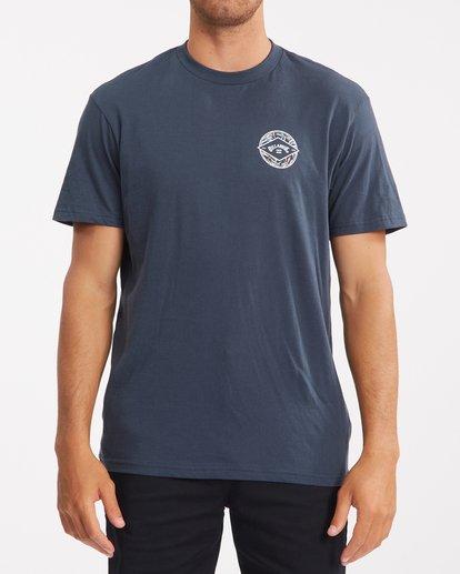 0 Rotor Arch Short Sleeve T-Shirt Blue ABYZT00791 Billabong