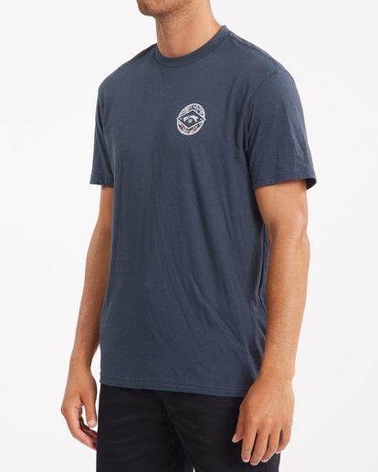 1 Rotor Arch Short Sleeve T-Shirt Blue ABYZT00791 Billabong