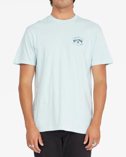 0 Entry Arch Short Sleeve T-Shirt Blue ABYZT00793 Billabong