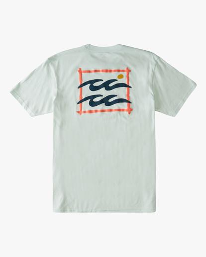 6 Crayon Wave Short Sleeve T-Shirt Multicolor ABYZT00795 Billabong