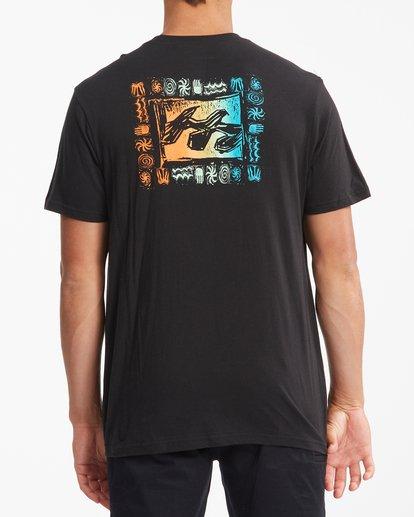 2 Crayon Wave Short Sleeve T-Shirt Black ABYZT00795 Billabong