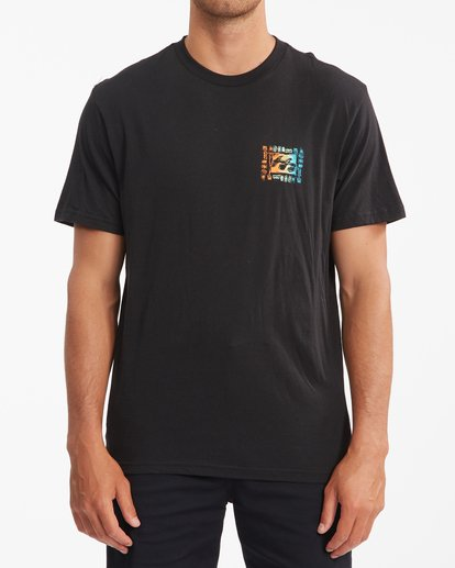 0 Crayon Wave Short Sleeve T-Shirt Black ABYZT00795 Billabong